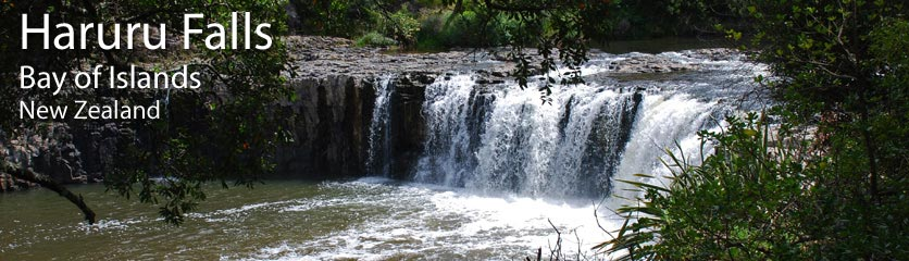 Walk from Waitangi to the spectacular Haruru Falls