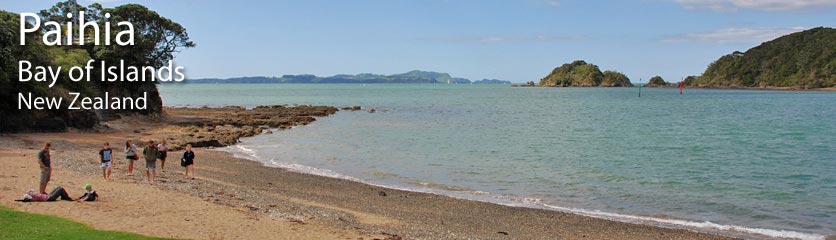 Links to other websites with information about Paihia